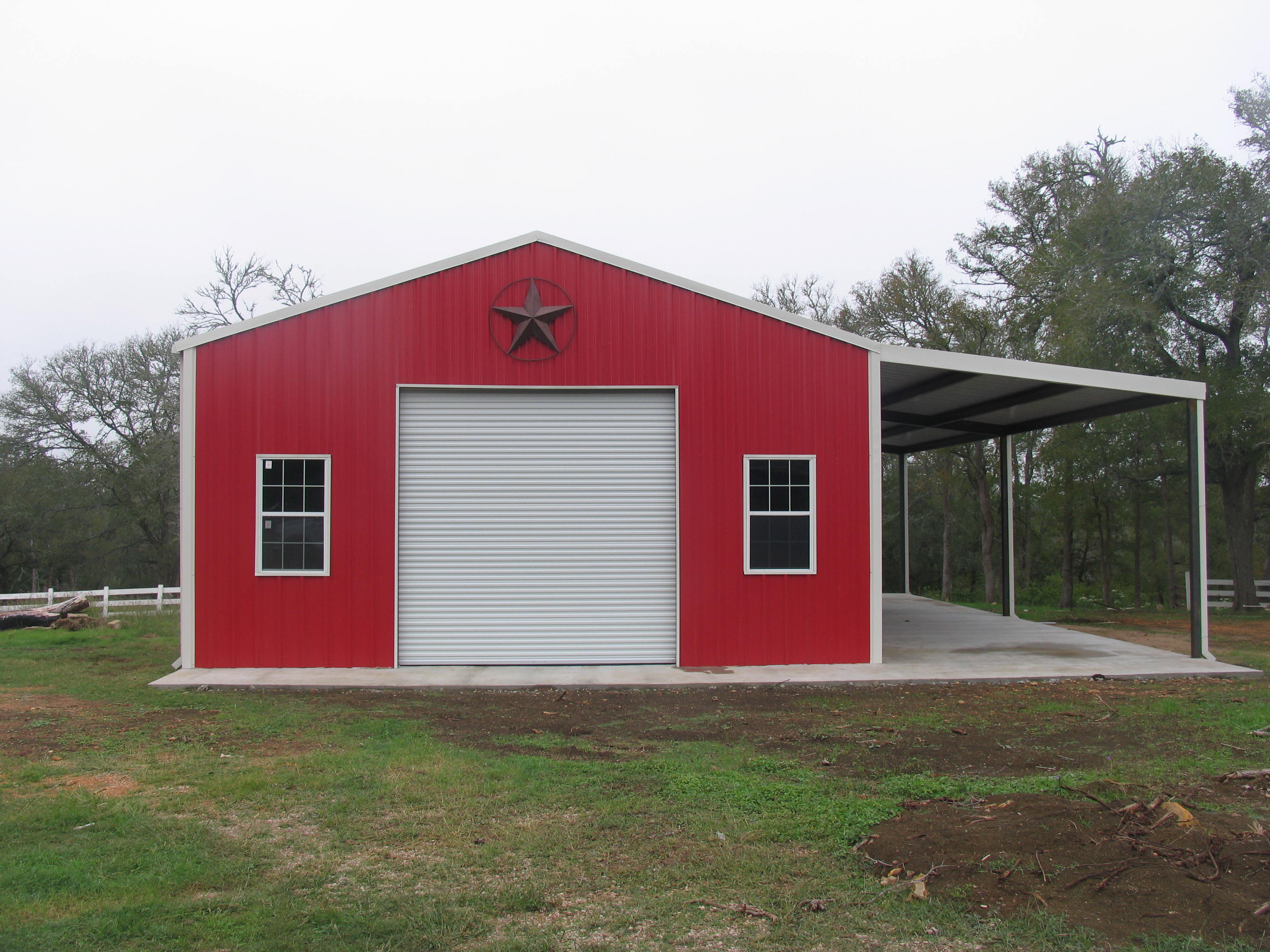 Metal Buildings Miller Custom Homes