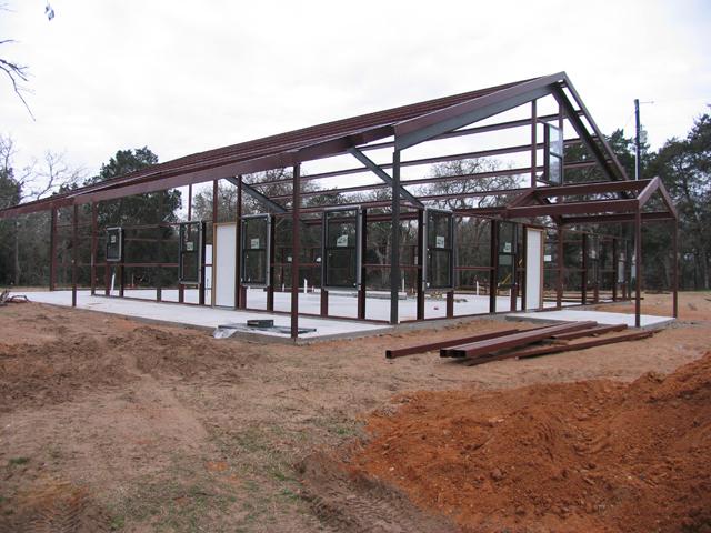 Metal buildings miller custom homes Metal houses texas